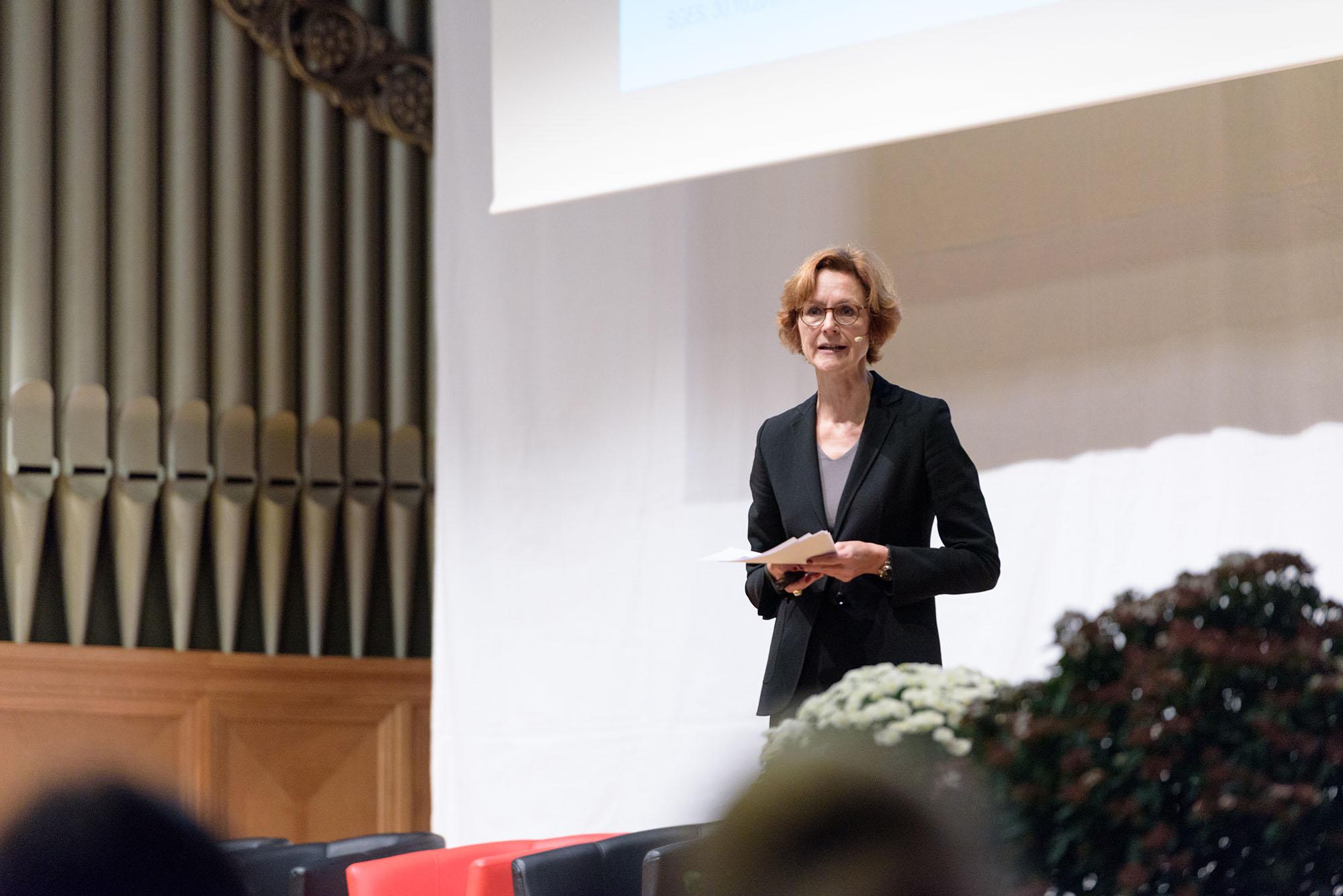 Monika Rühl, Vorsitzende der Geschäftsleitung von economiesuisse