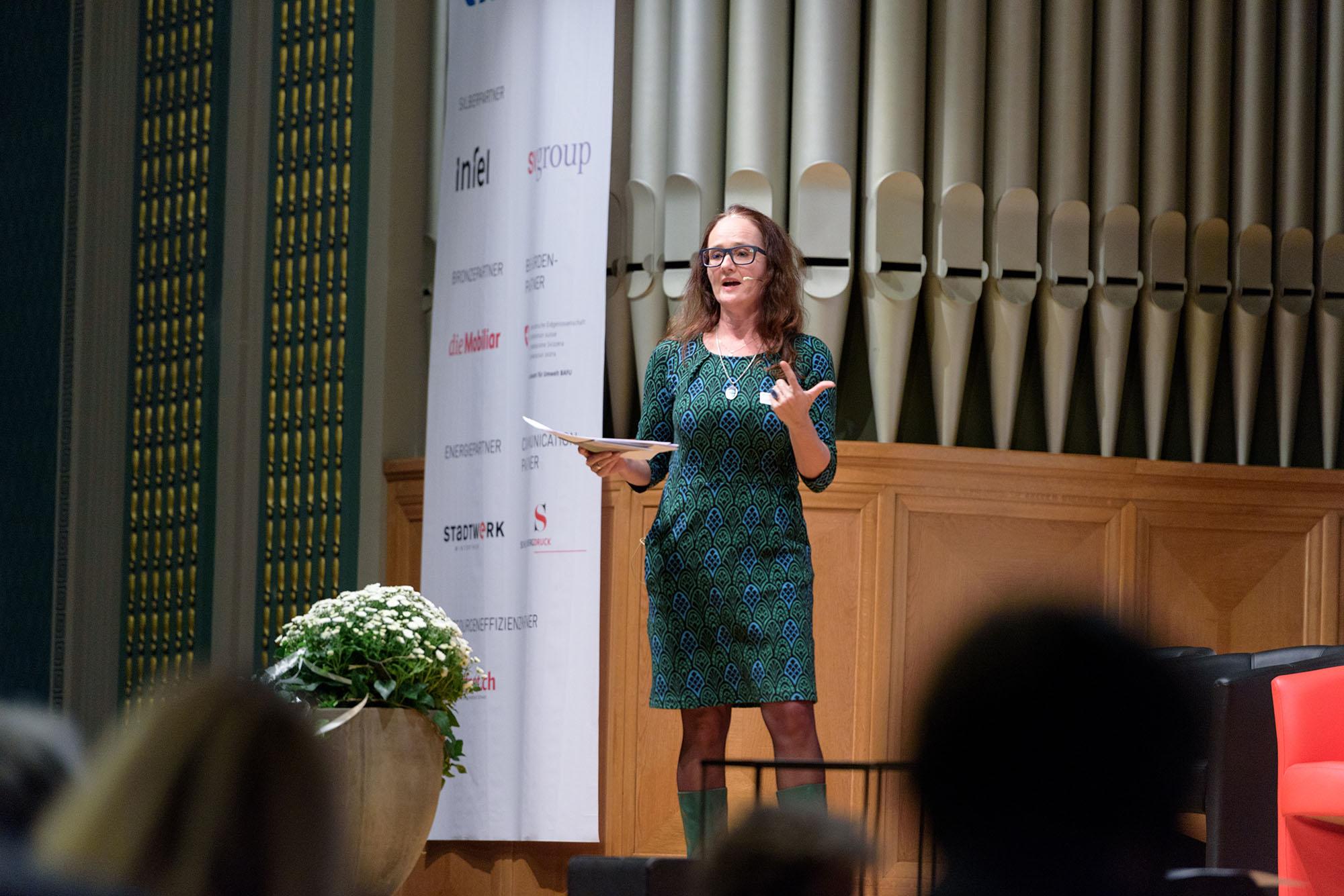 Dr. Karine Siegwart, Vizedirektorin Bundesamt für Umwelt