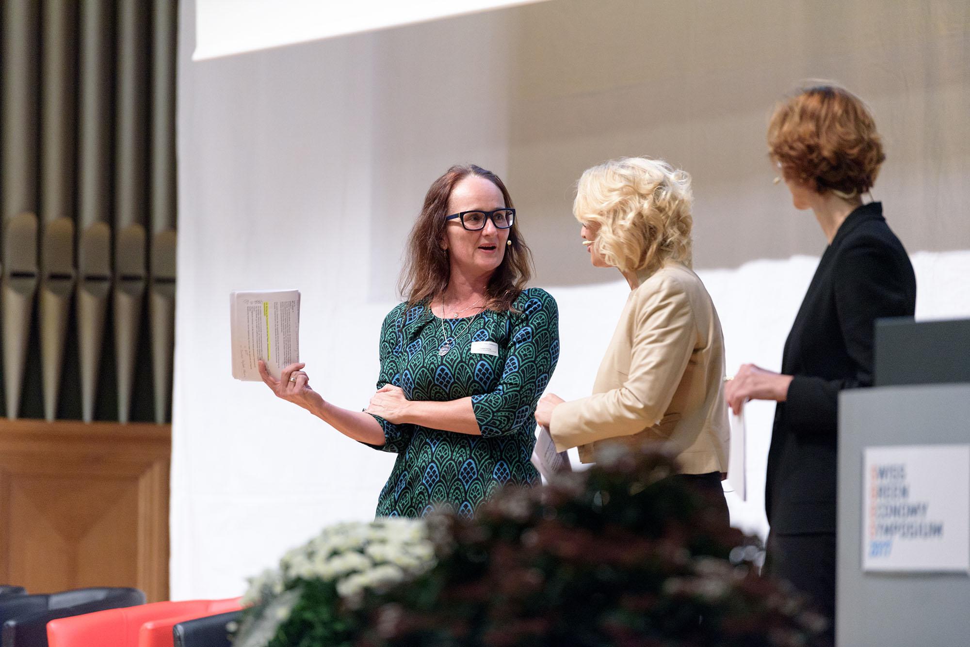 Karine Siegwart, Sonja Hasler, Monika Rühl