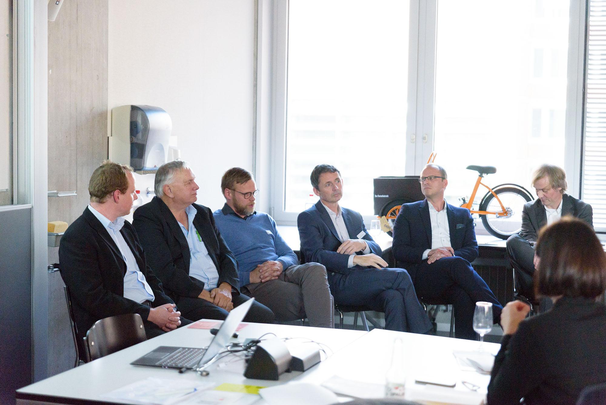 Frank Loacker, Christian Grasser, Roger Miauton, Jörg Beckmann, Adrian Müller, Patrik Aellig