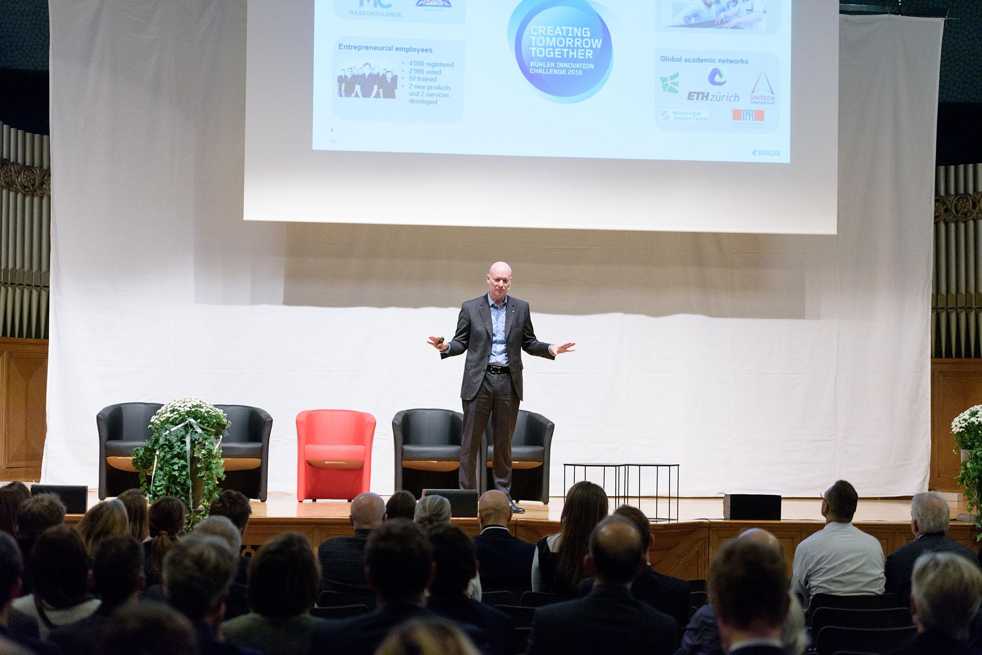 Ian Roberts, Chief Technology Officer Bühler Management AG