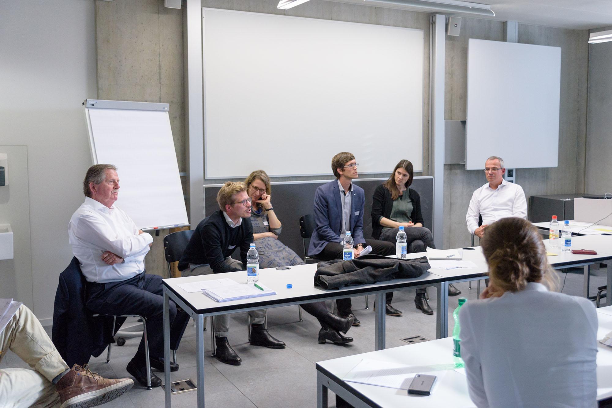 Roland Stulz, Lorenz Isler, Rahel Gessler, Christian Schmid, Alexandra Palzkill, Tobias Gerfin