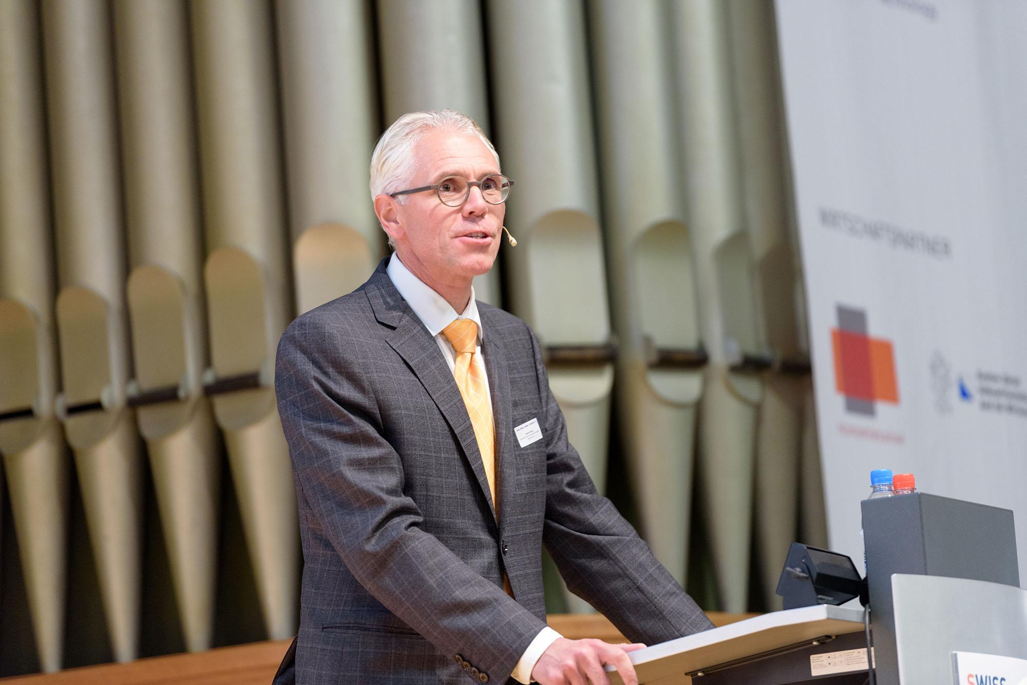 Bruno Sauter, Amtschef, Amt für Wirtschaft und Arbeit des Kanton Zürich