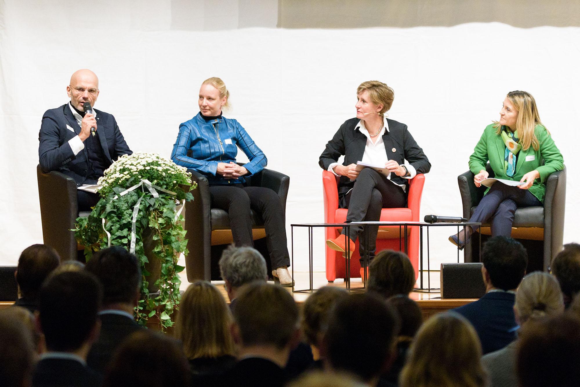 Max Schachinger, Denise Fessler, Katrin Muff, Simona Scarpaleggia