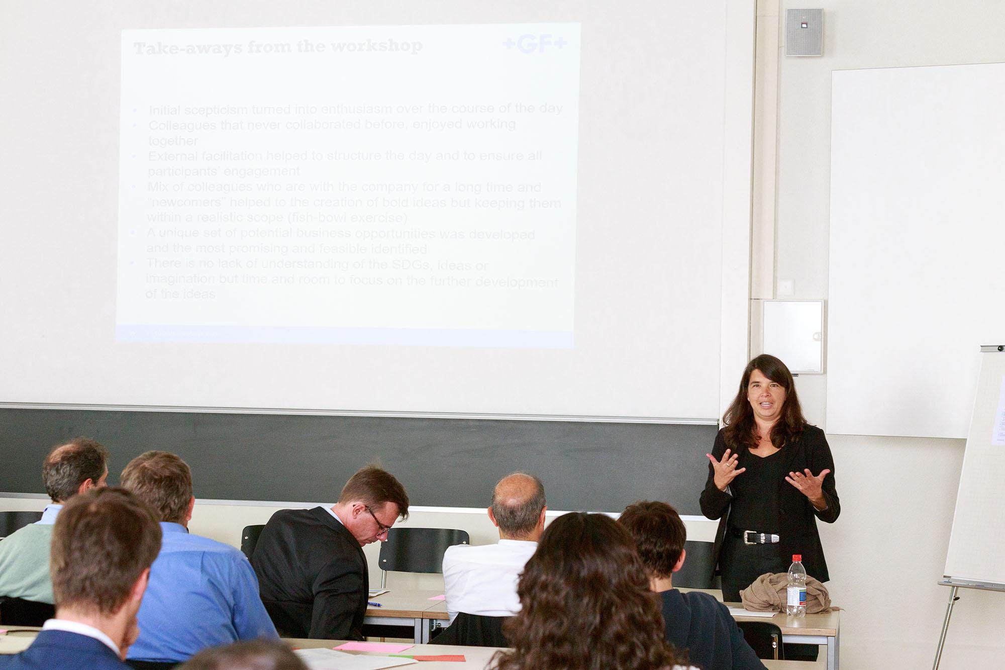 Stefanie Koch, Corporate Sustainability Officer, Georg Fischer