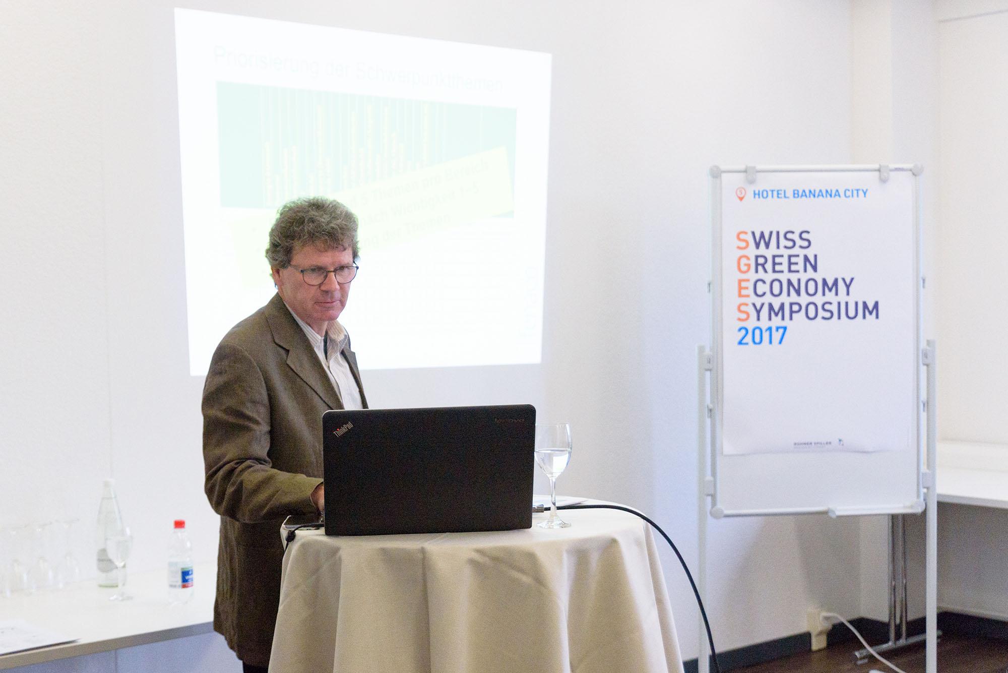 Urs Vollmer, Projektleitung Nachhaltigkeit / CO2, fenaco