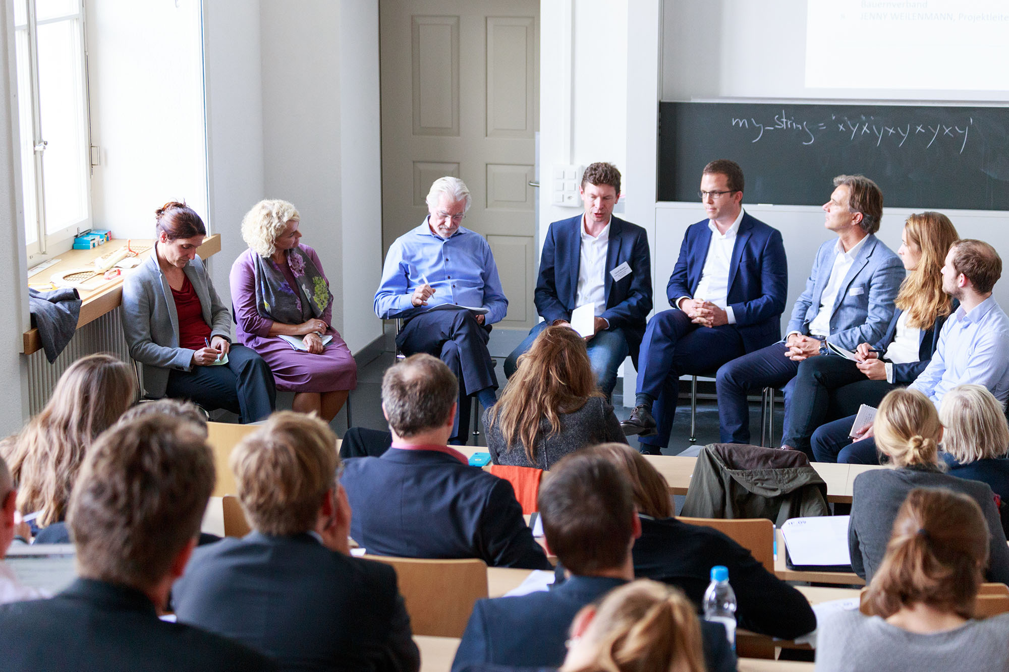Fabienne Thomas, Regina Ammann, Hans-Rudolf Herren, Toralf Richter, Dominic Meyerhans, Roger Harlacher, Jenny Weilenmann, Felix Harrer