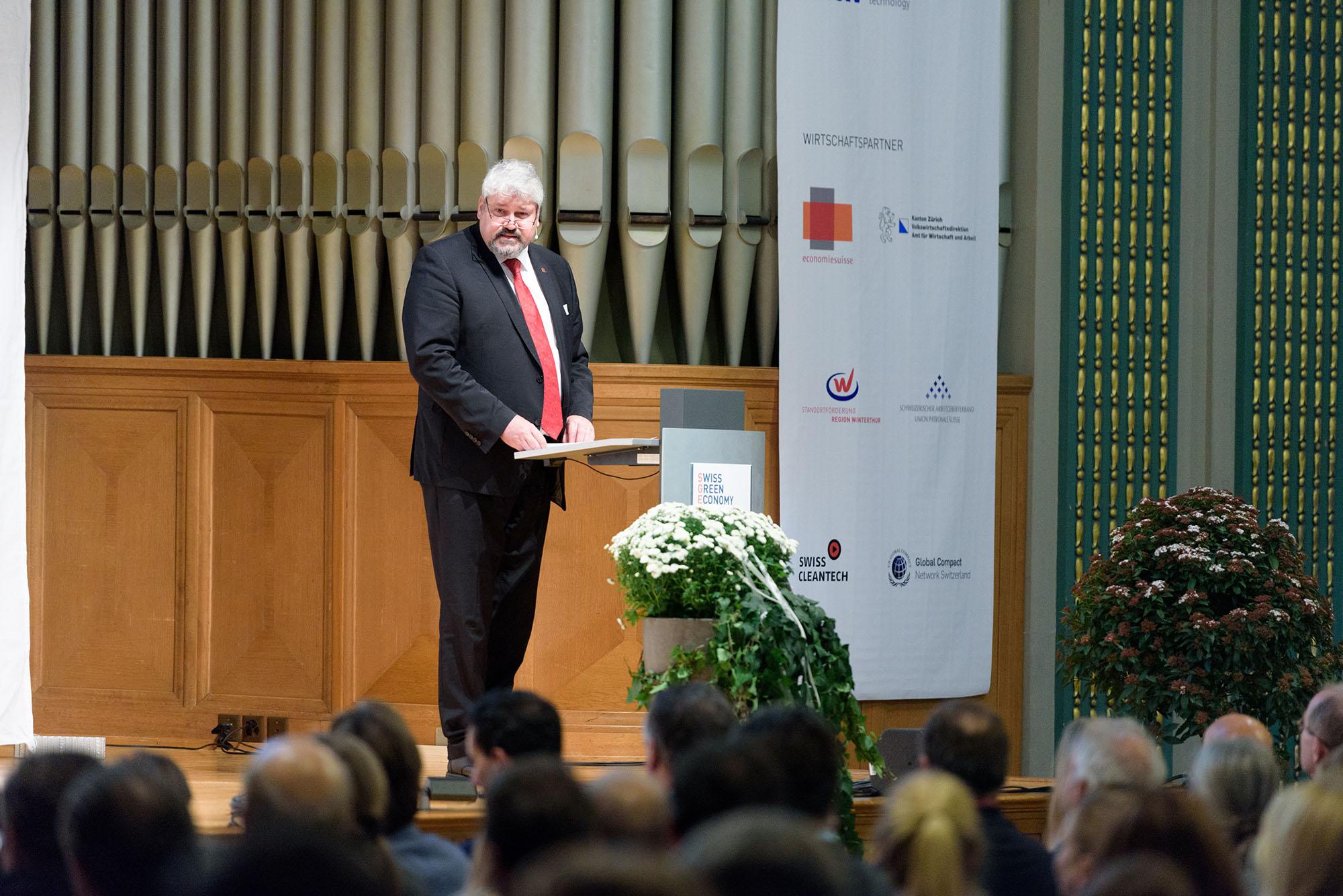Michael Künzle, Stadtpräsident Stadt Winterthur