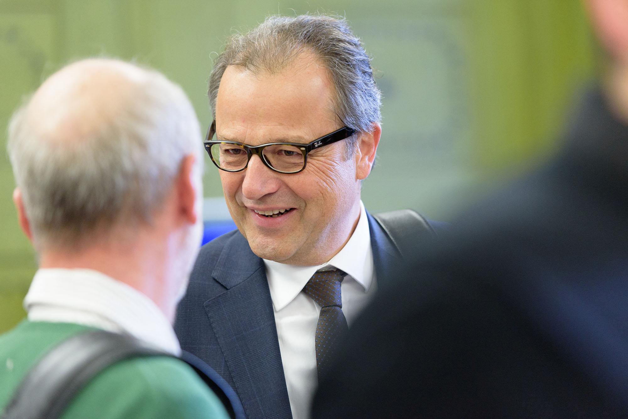 Bernhard Lanzendörfer, Präsident Green Building, CEO Saint-Gobain Weber AG