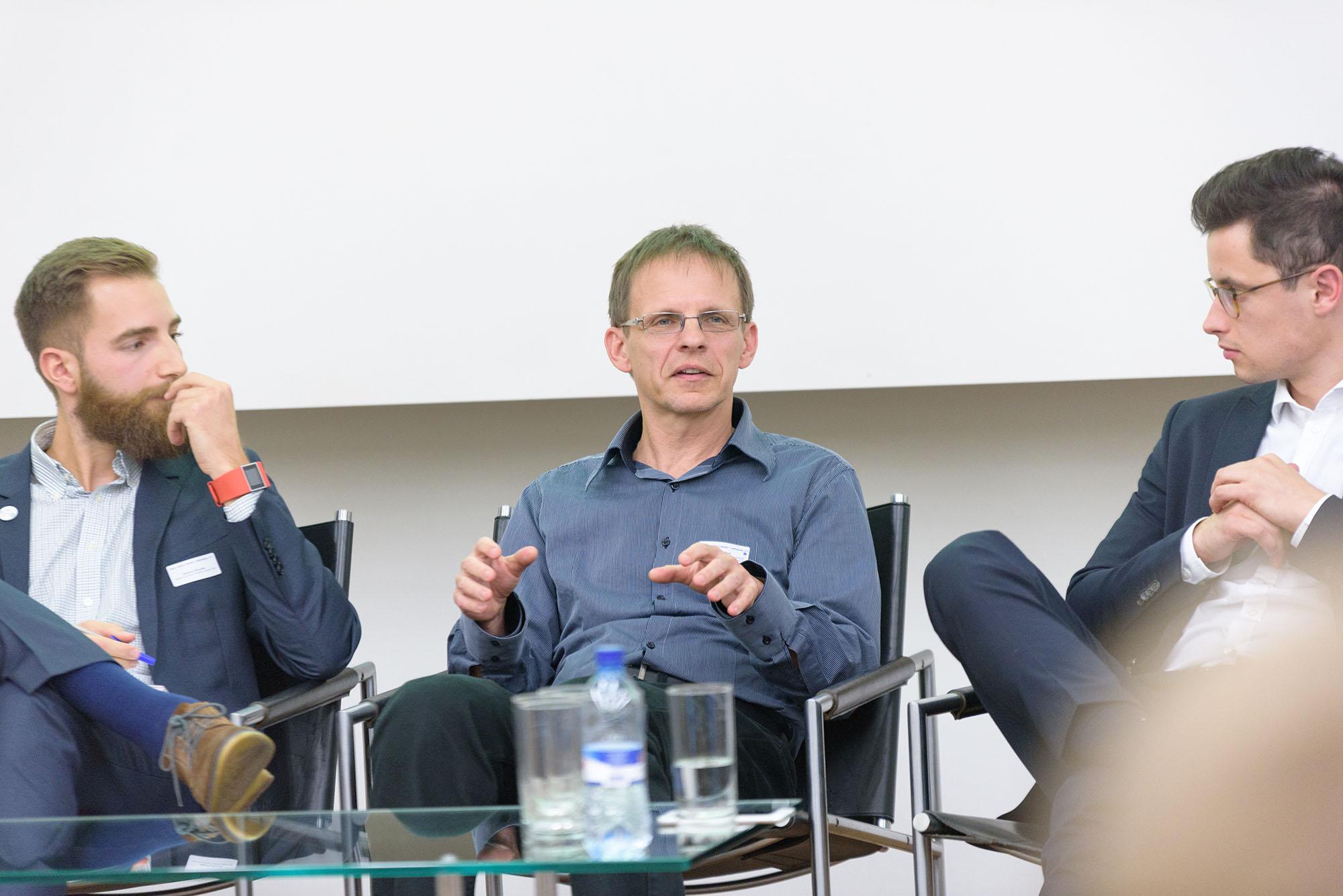 Riccardo Decarolis, Beat Koch, Jan Bieser