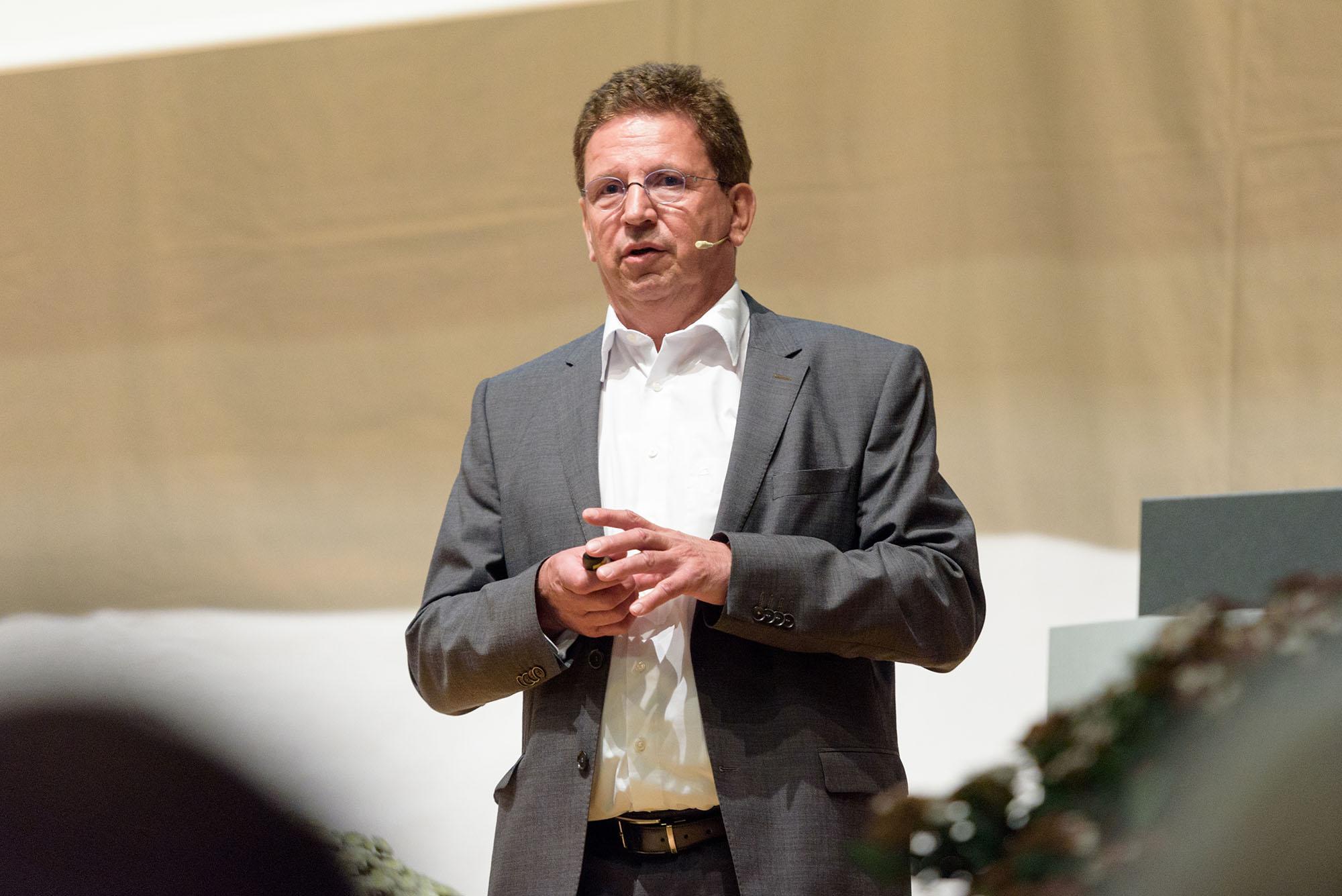 Siegfried Gerlach, CEO Siemens Schweiz AG