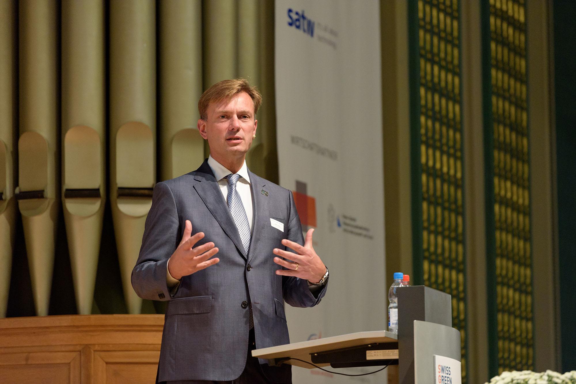 Christian Ewert, Director General of Foreign Trade Association, Brussels