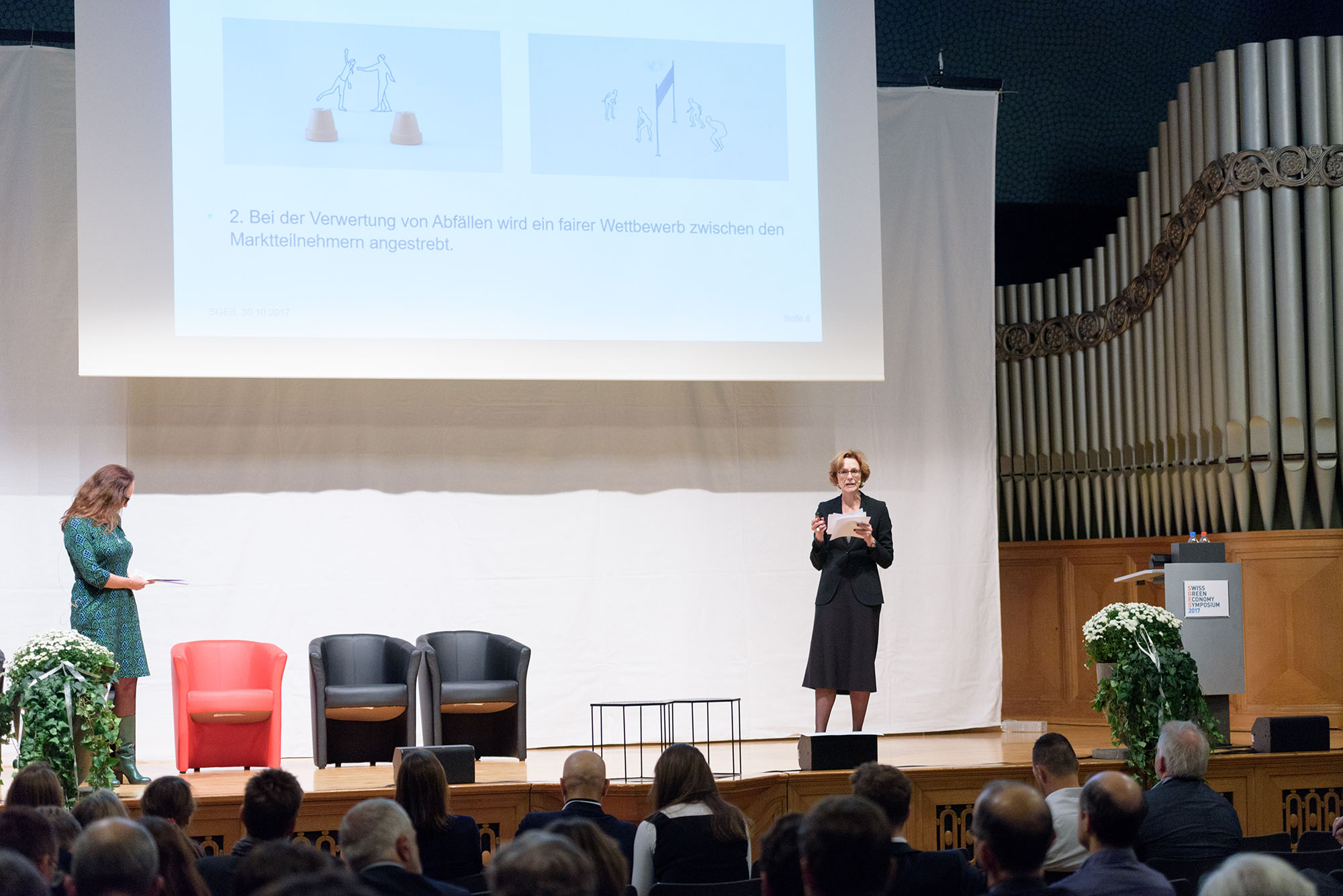 Karine Siegwart, Monika Rühl