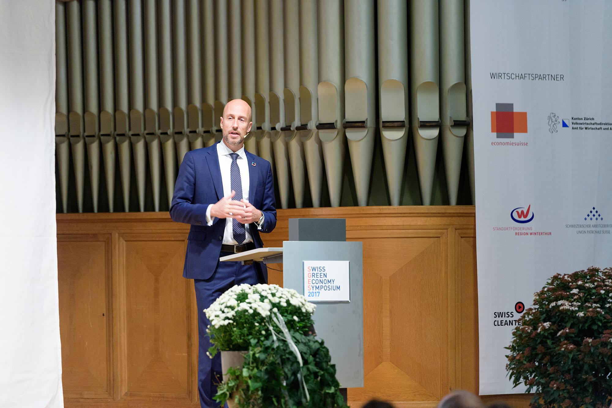 Botschafter Michael Gerber, Sonderbeauftragter des Bundesrats für globale nachhaltige Entwicklung