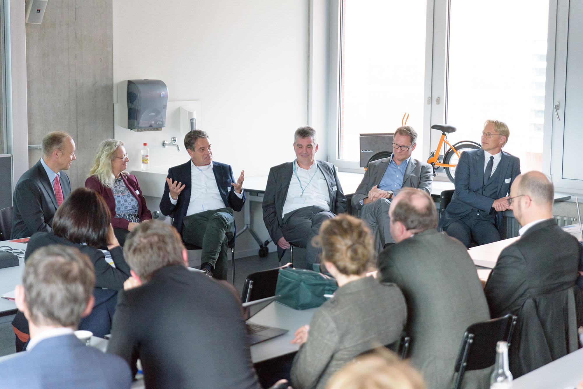 Rolf Hügli, Daniela Decurtins, David Thiel, Jürgen Baumann, Roland Bilang, Peter de Haan