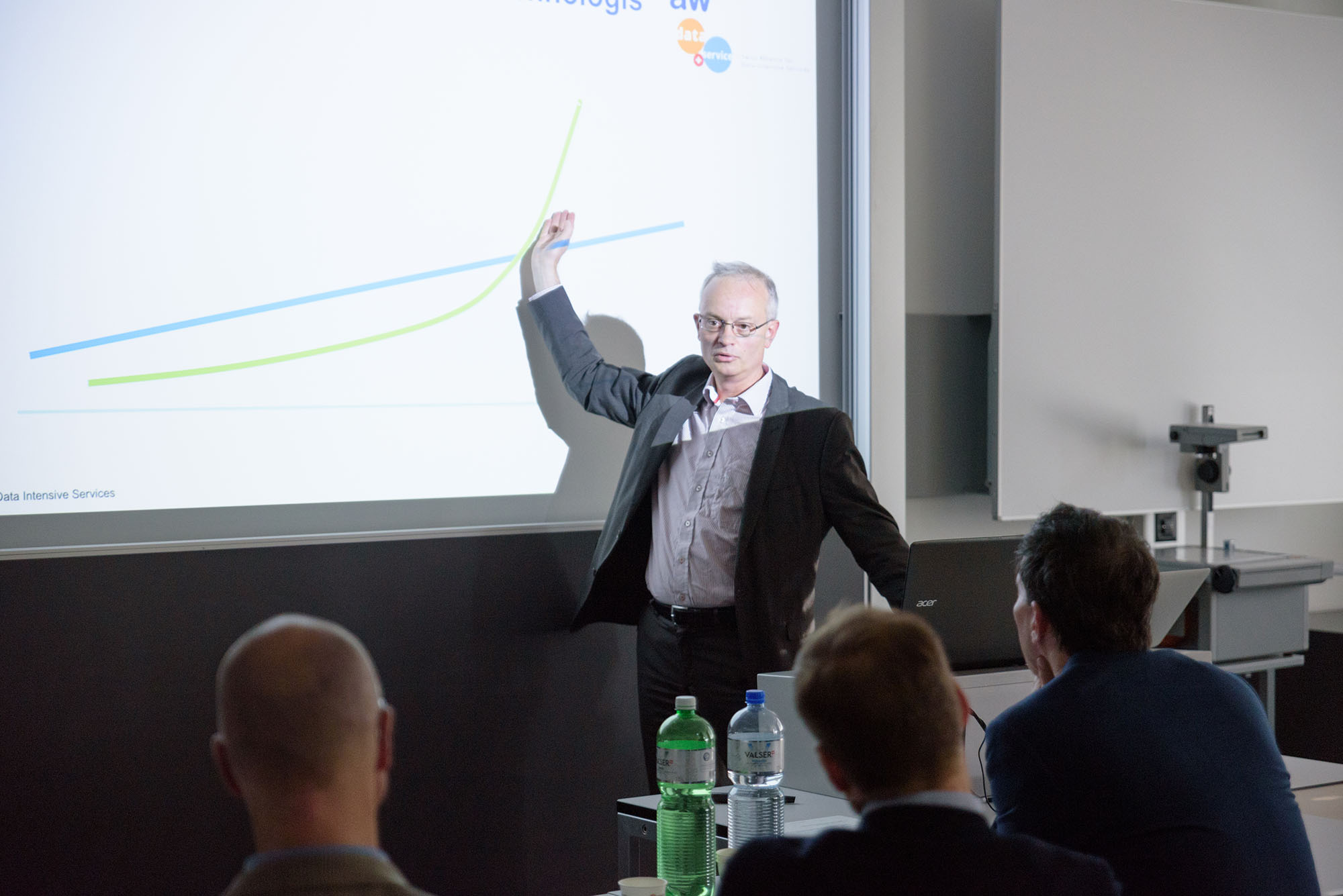 Dr. Jürg Meierhofer, Koordinator ZHAW Plattform Industrie 4.0, ZHAW School of Engineering, Swiss Alliance for Data-Intensive Services