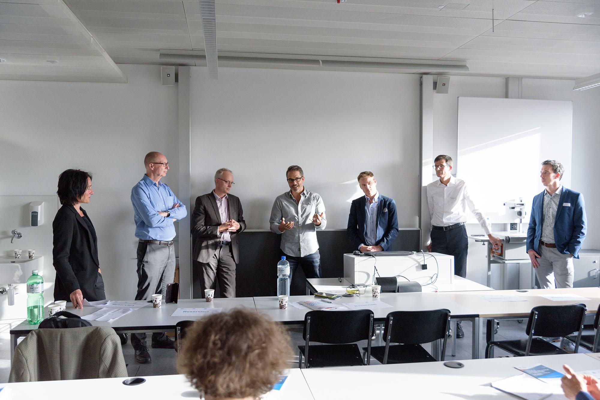Karin Landolt, Andre Golliez, Jürg Meierhofer, Marco Sieber, Christoph Zech, Vicente Carabias, Paul Geurts, Erwin Pfister