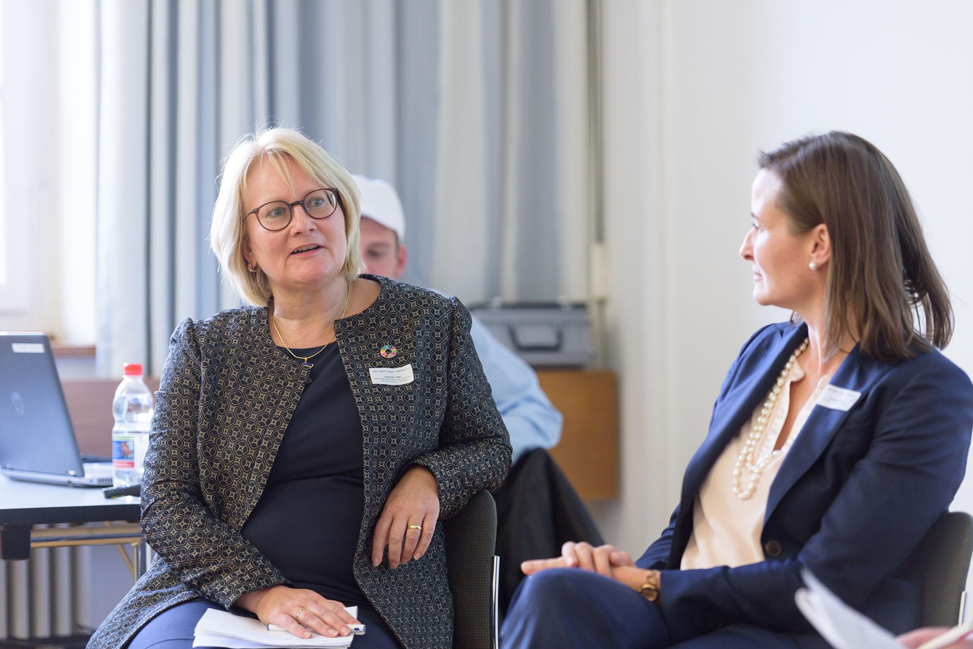 Sybil Anwander, Sabine Oberhuber