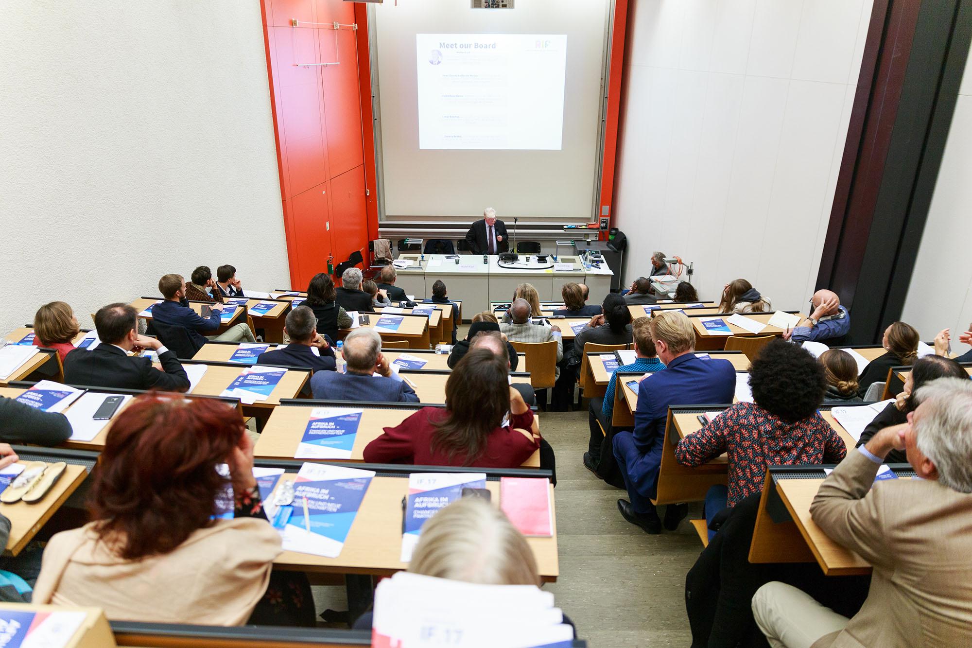 Ambassador Walter Fust, African Innovation Foundation