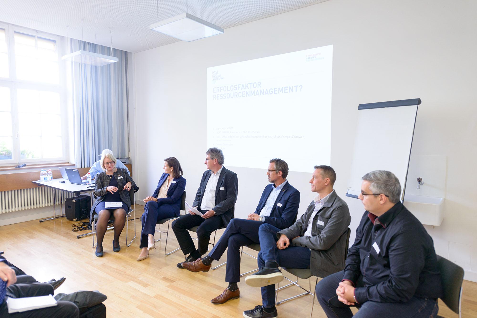 Sybil Anwander, Sabine Oberhuber, Heinz Böni, Kurt Lanz, Beat Karrer, Jörg Solèr