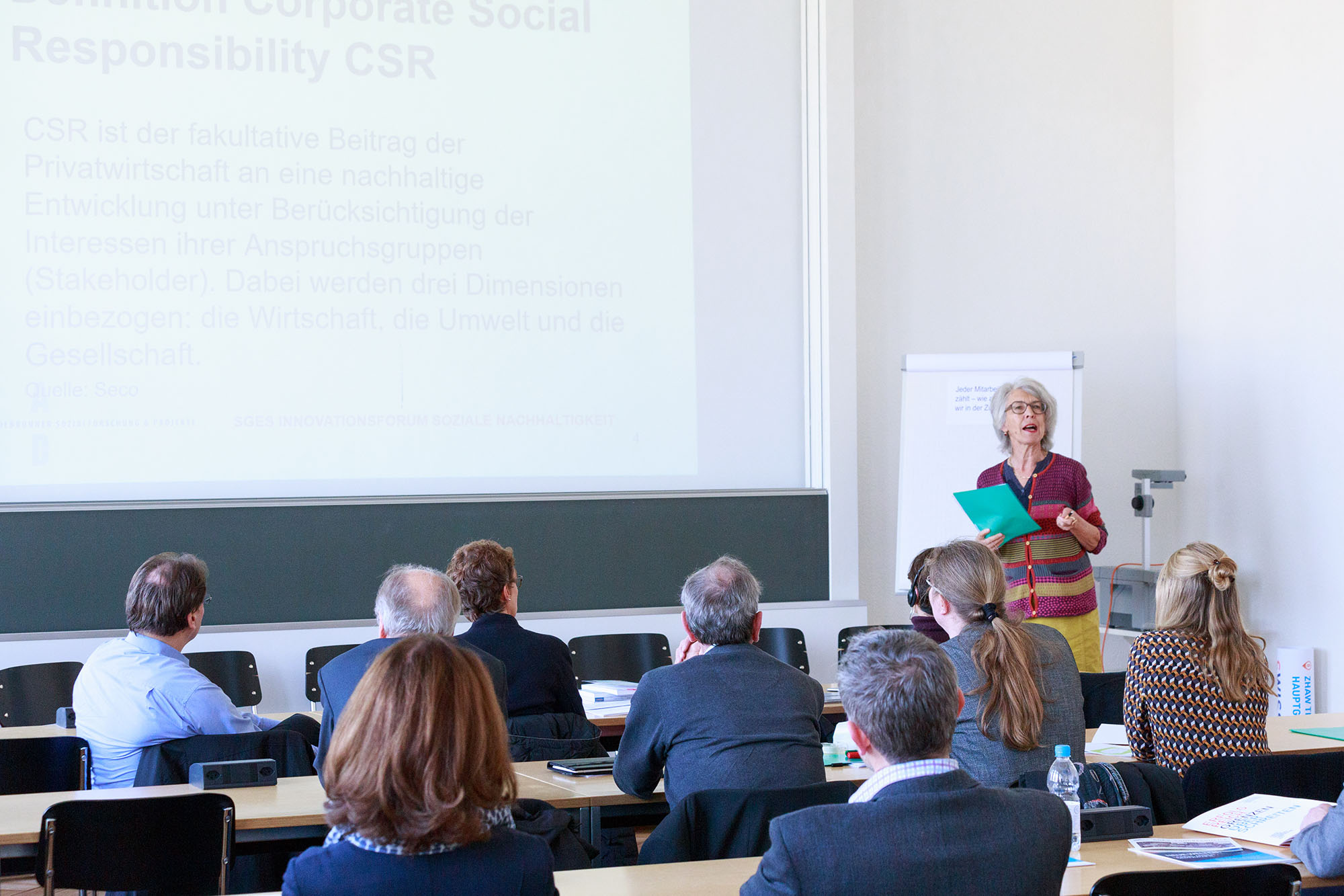 Dr. Annelies Debrunner, Firmeninhaberin Debrunner Sozialforschung