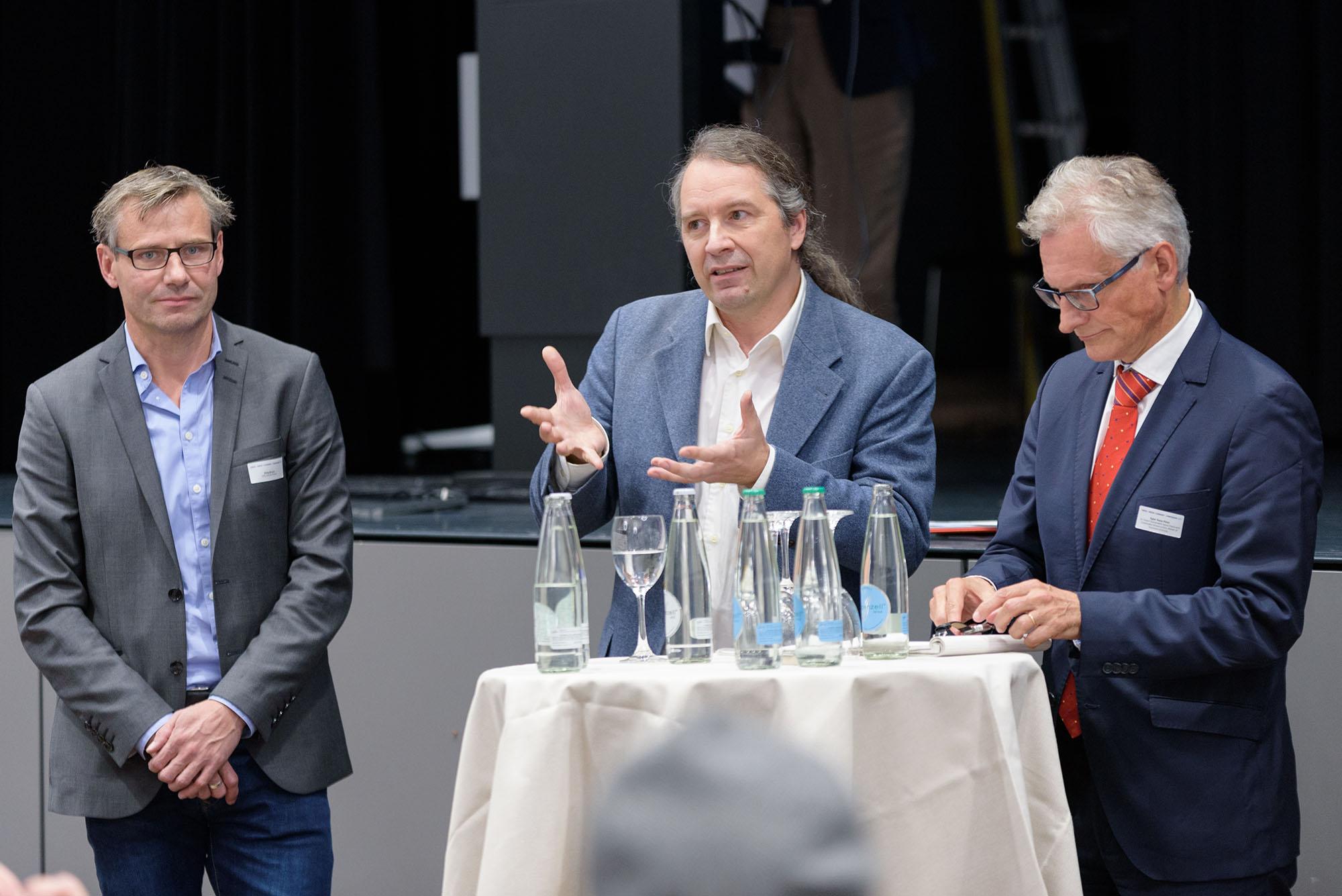 Bruno Bisig, Christian Baumgartner, Hans-Peter Egler