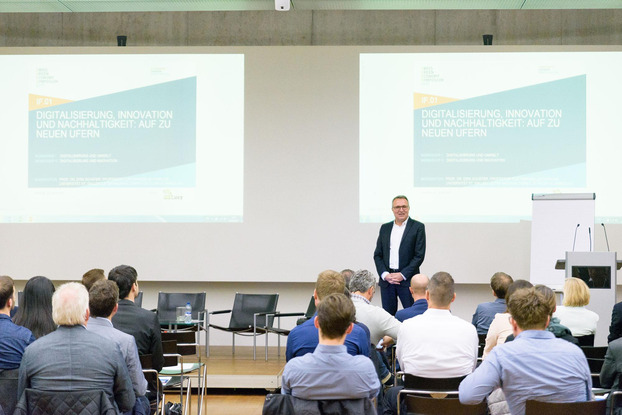 Prof. Dr. Dirk Schäfer, Professor für finanzielle Führung Universität St. Gallen, Leiter Nachhaltigkeit Detecon Schweiz