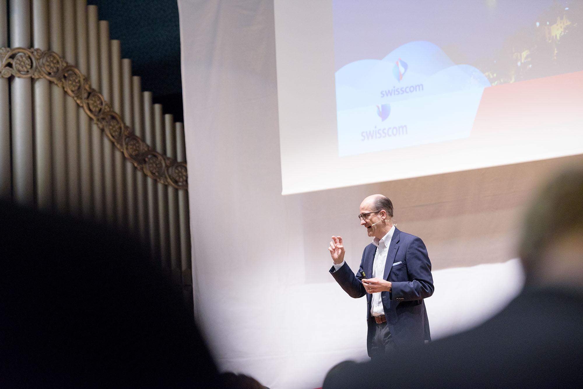 Dr. Hans C. Werner, Mitglied Konzernleitung, Swisscom