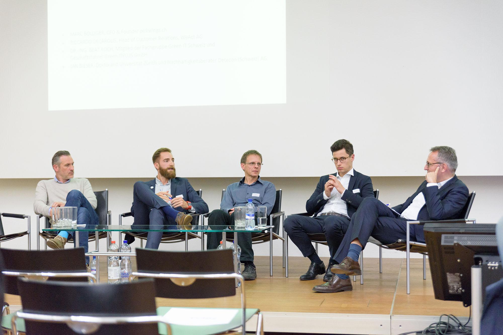 Marc Bolliger, Riccardo Decarolis, Beat Koch, Jan Bieser, Dirk Schäfer