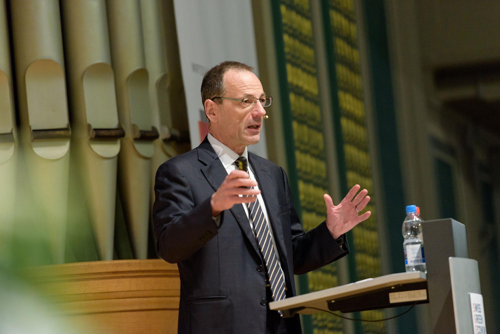 Prof. Dr. Lino Guzzella, Präsident ETH Zürich