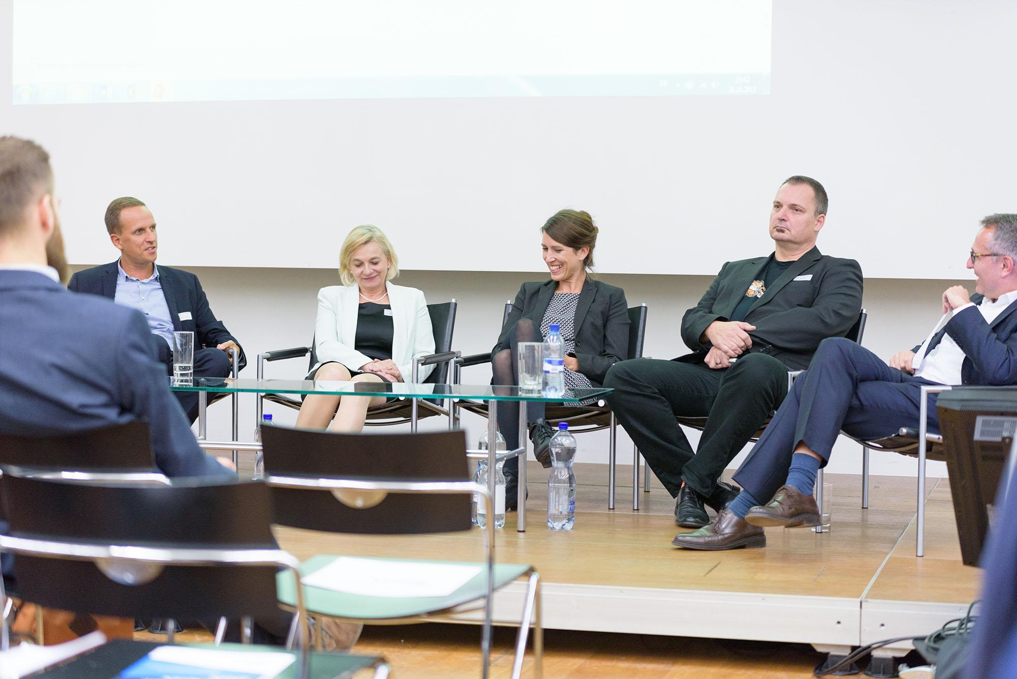 Martin Kathriner, Kathrin Amacker, Sabine Lötscher, Palo Stacho, Dirk Schäfer