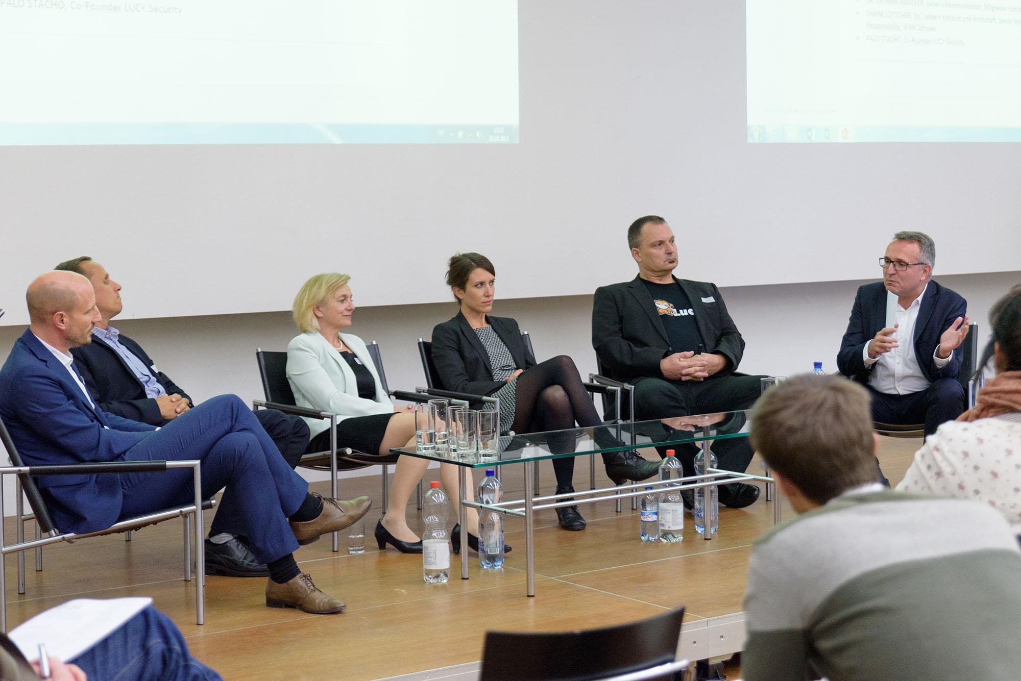 Thomas Ruck, Martin Kathriner, Kathrin Amacker, Sabine Lötscher, Palo Stacho, Dirk Schäfer
