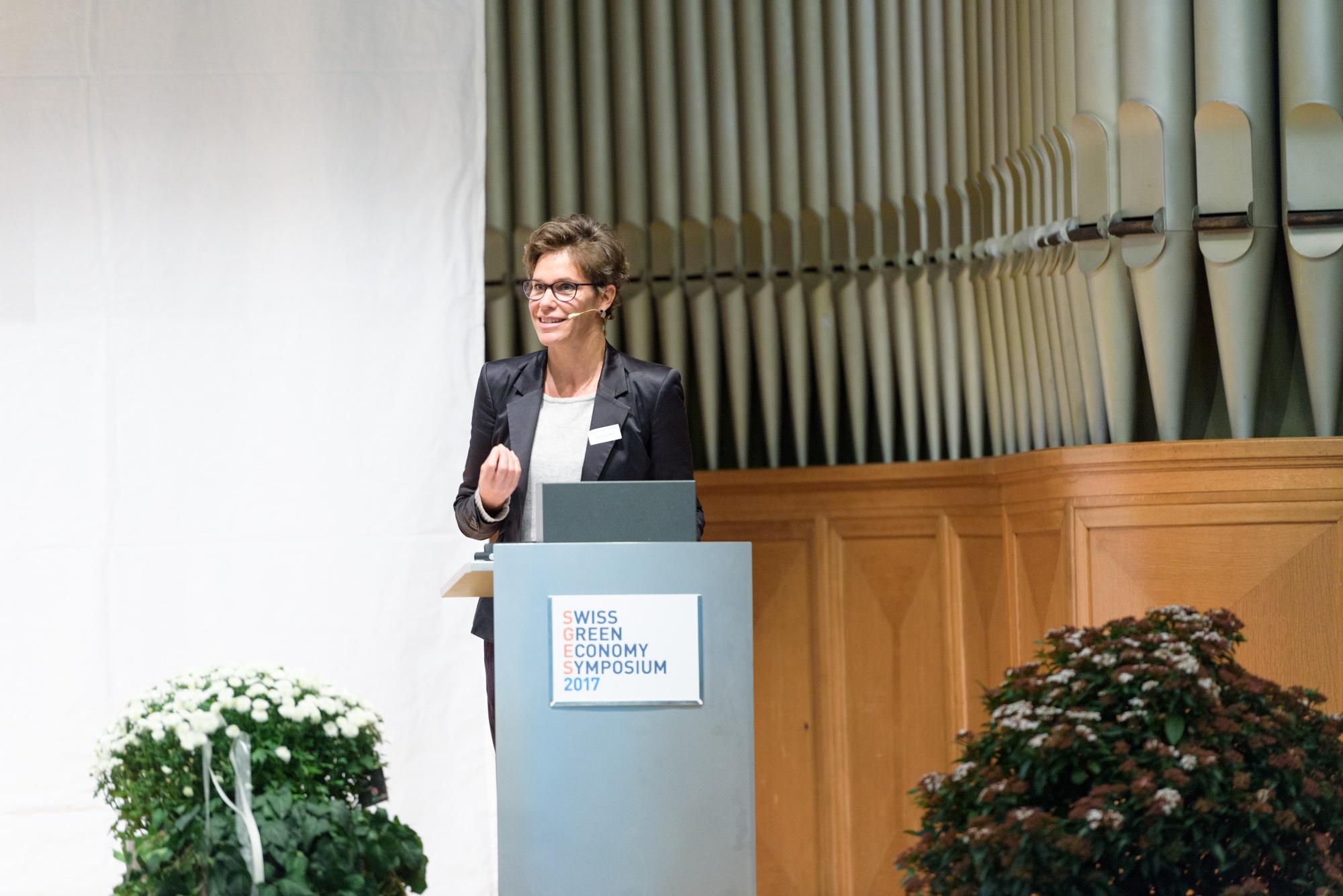 Stadträtin Barbara Günthard-Maier