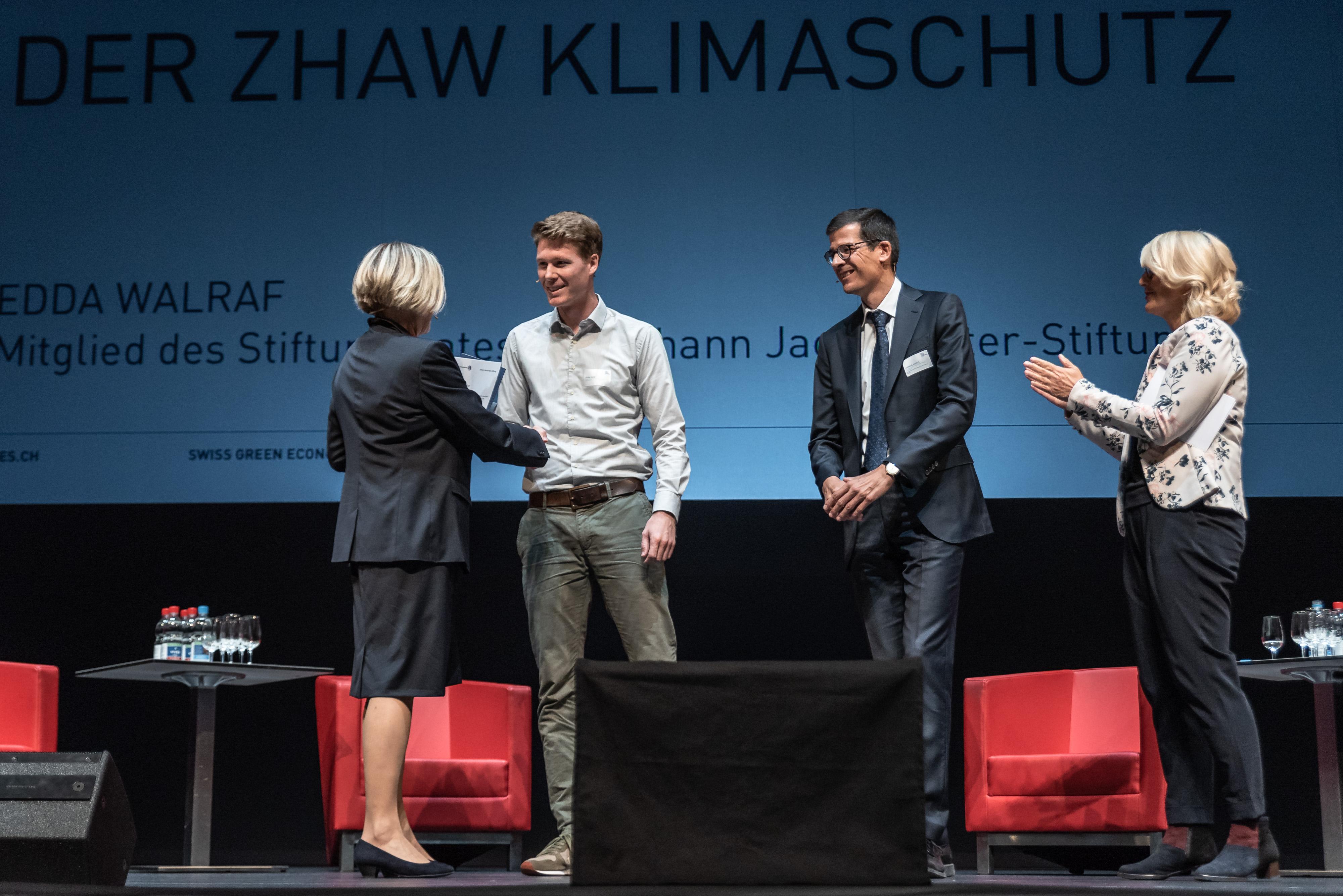 SGES 2018 Preisverleihung Beste Bachelor/Masterarbeit ZHAW