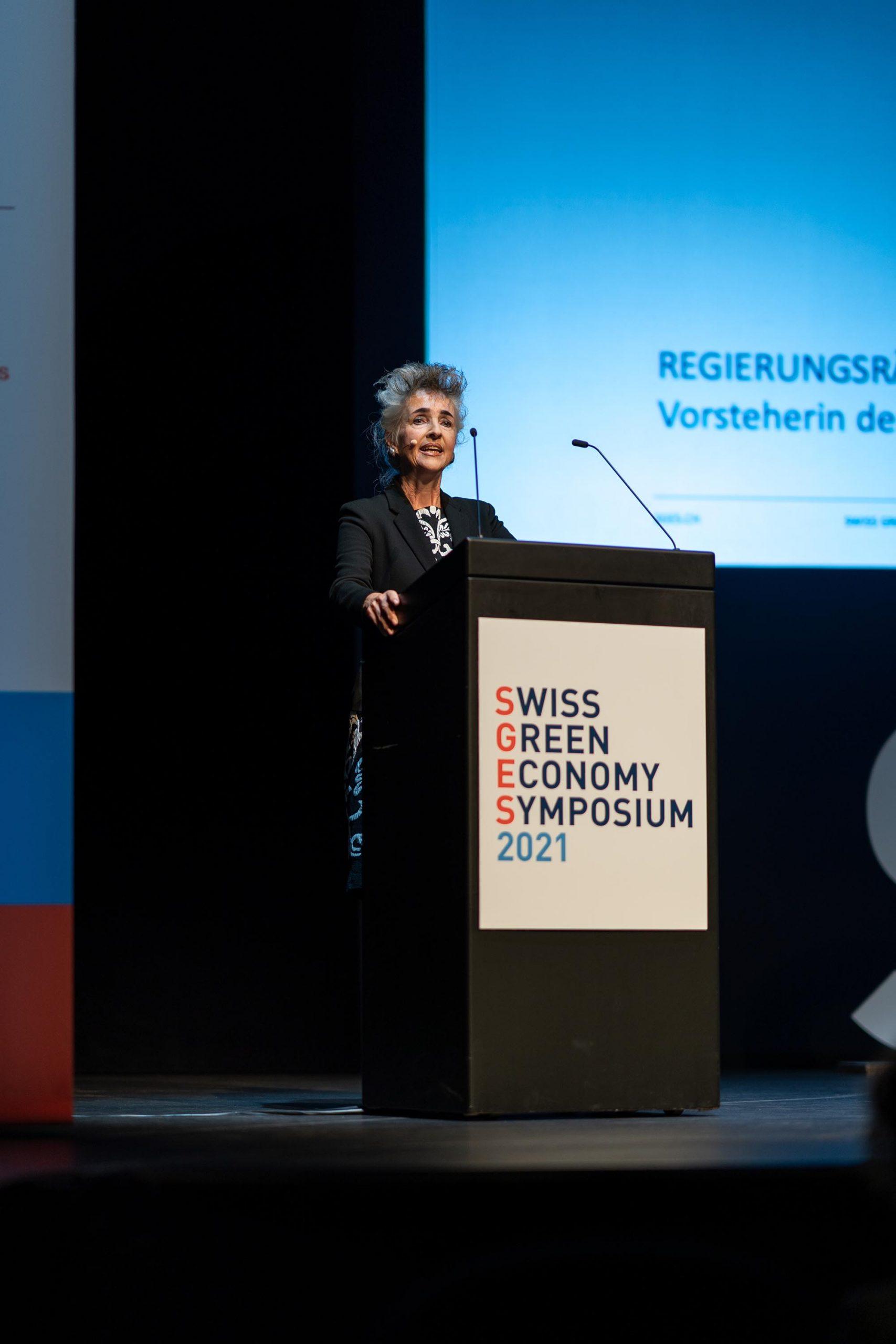SGES Grusswort: Regierungsrätin Carmen Walker Späh, Vorsteherin der Volkswirtschaftsdirektion des Kantons Zürich