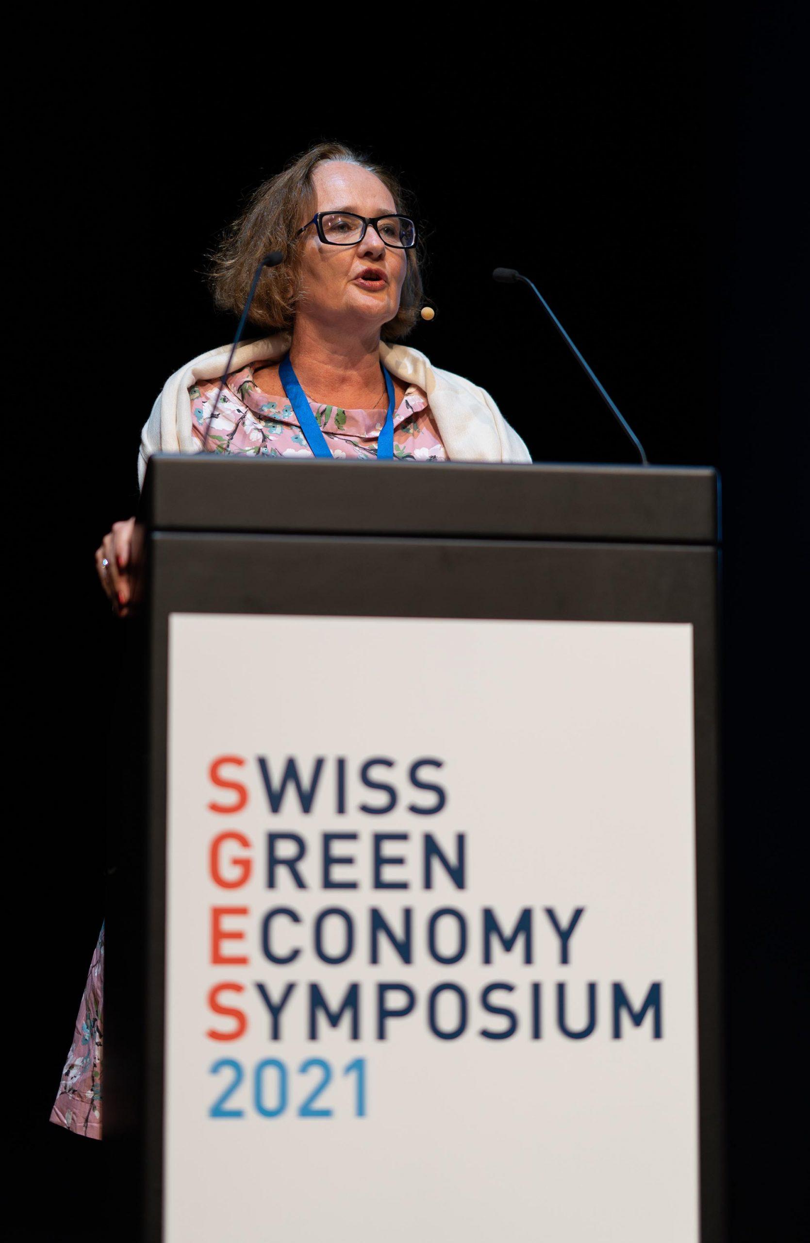 SGES Keynote: Dr. Karine Siegwart, Vizedirektorin, Bundesamt für Umwelt