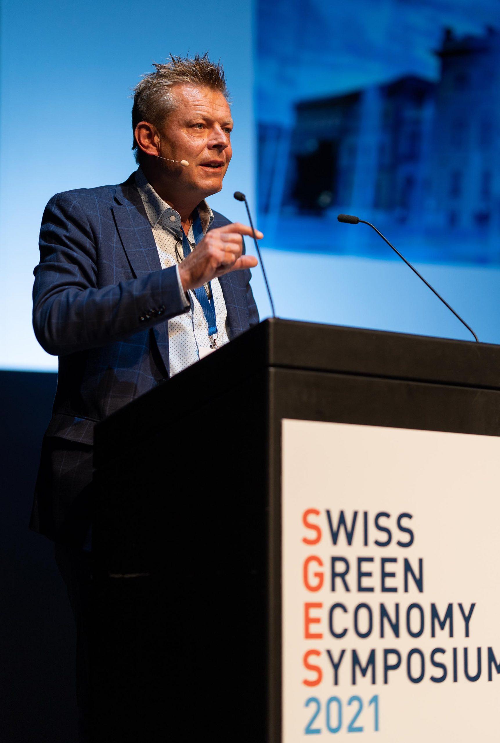 SGES Keynote: Reto Nause, Vize-Stadtpräsident und Direktor für Sicherheit, Umwelt und Energie, Stadt Bern