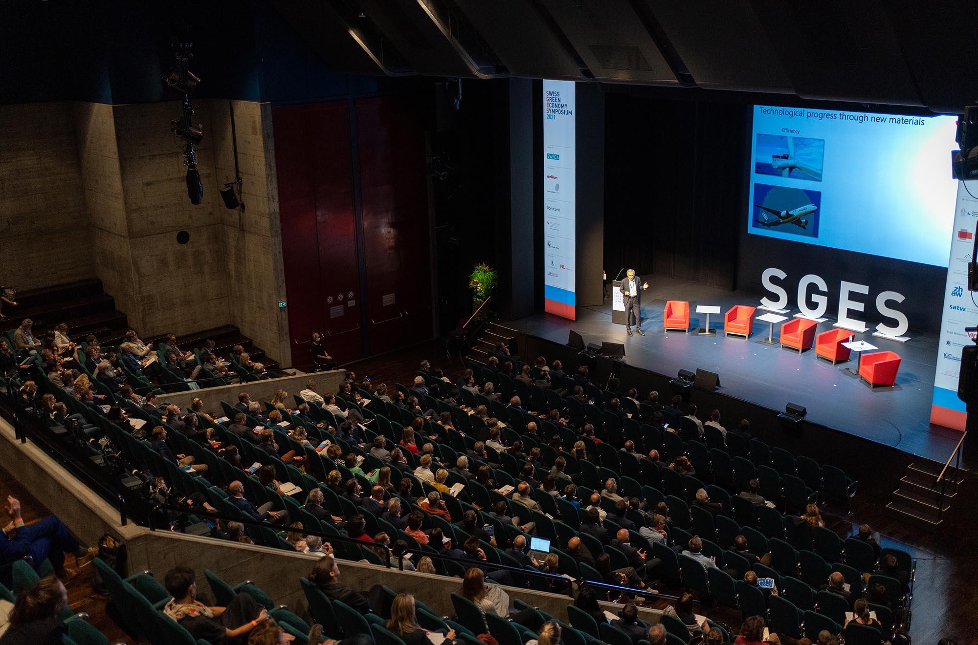 SGES Keynote: Prof. Dr. Gian-Luca Bona, Direktor, Empa