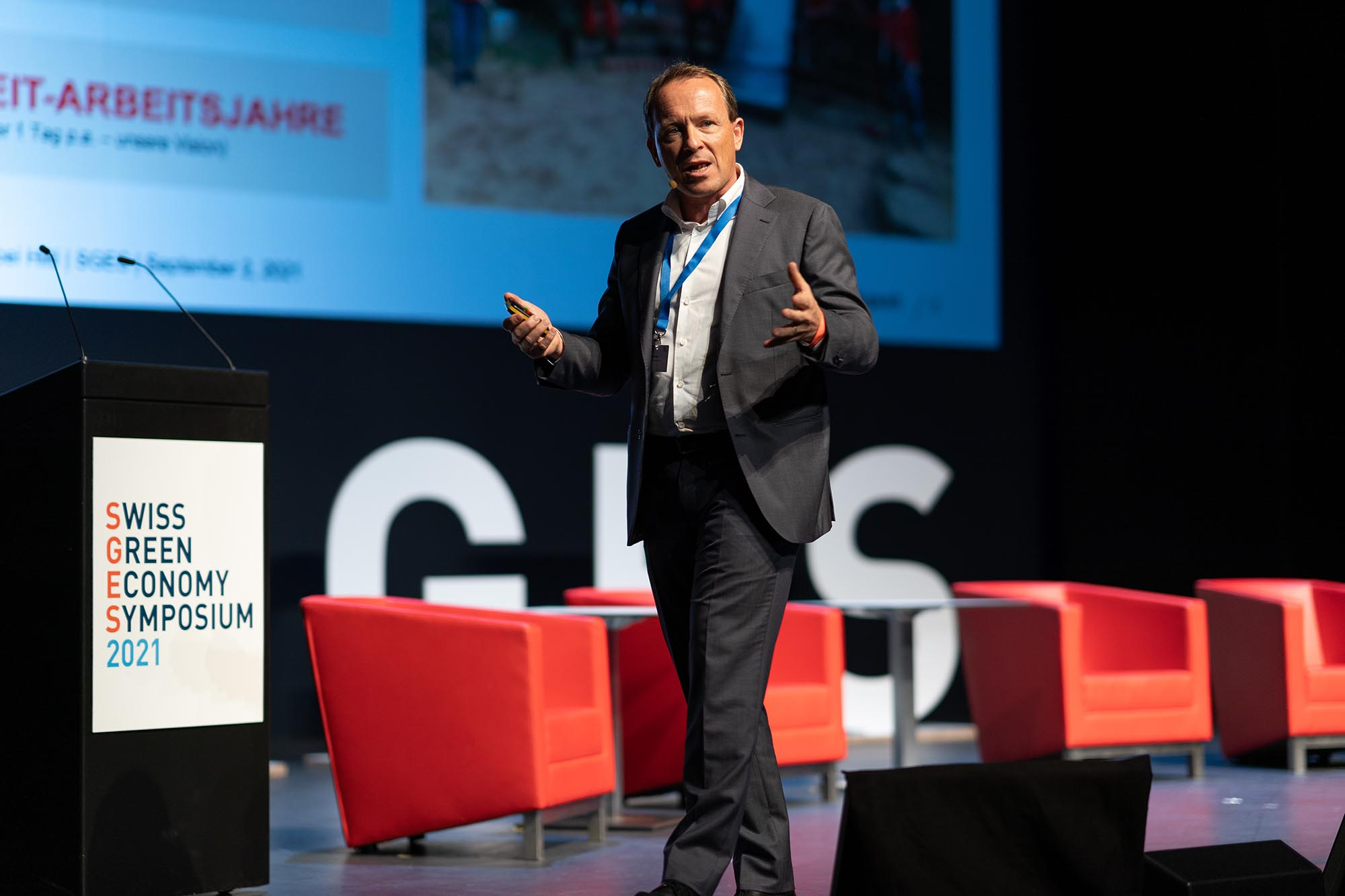SGES Keynote: Dr. Christoph Loos, Vorsitzender der Konzernleitung, Hilti