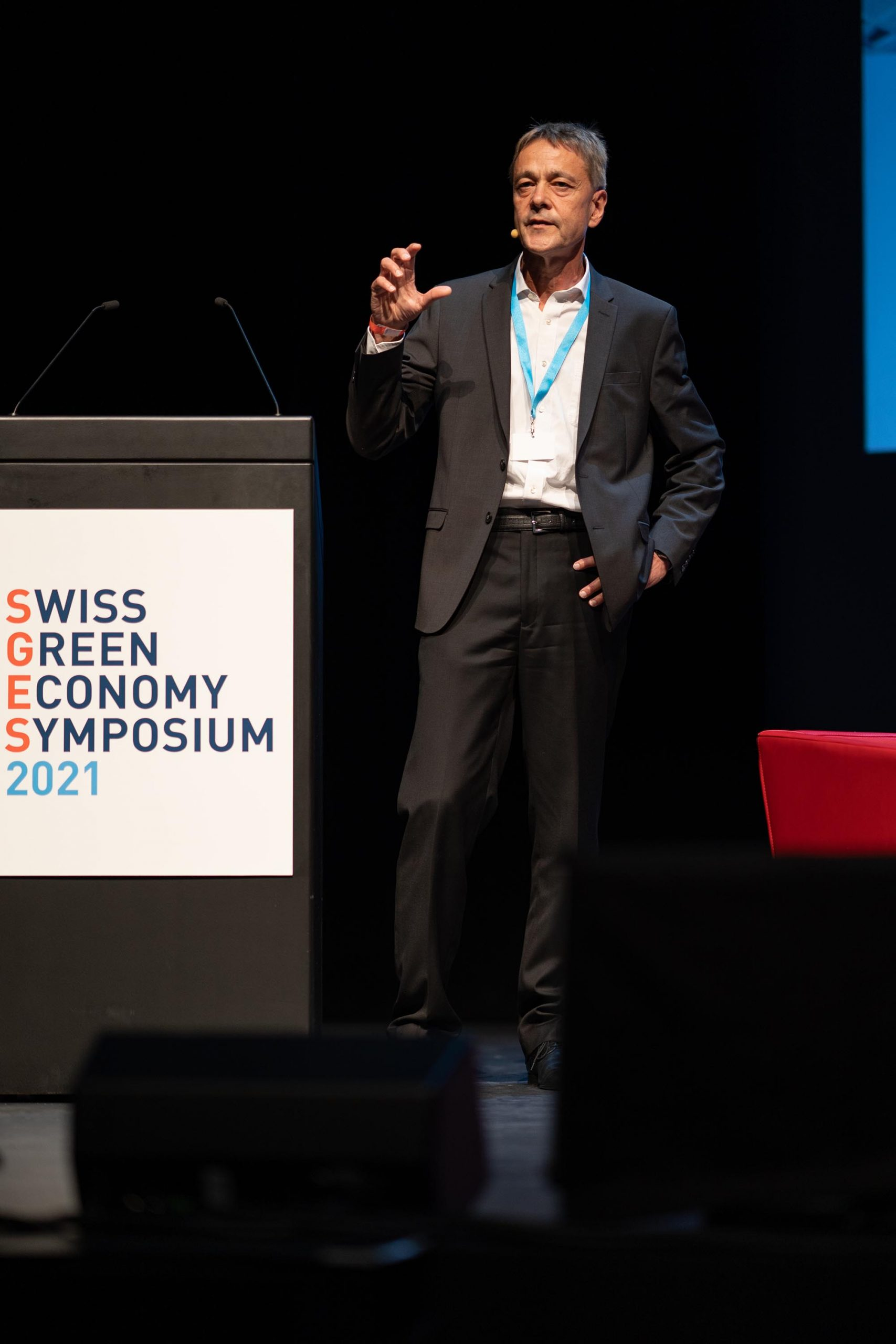 SGES Keynote: Dr. Bernhard Eschermann, Chief Technology Officer of ABB's Process Automation business, Head of Process Control Platform and member of ABB's Group Technology Leadership Team