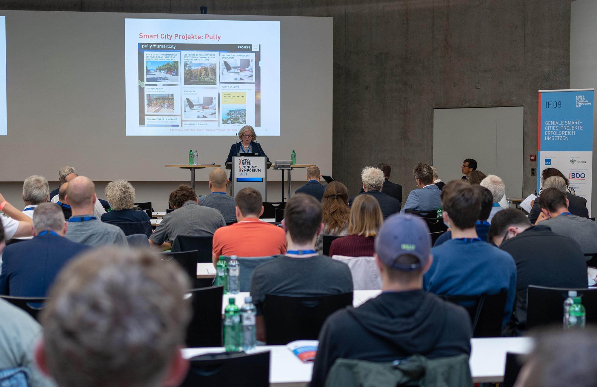 IF.08 Teil 2 Keynote: Renate Amstutz, Direktorin Schweizerischer Städteverband
