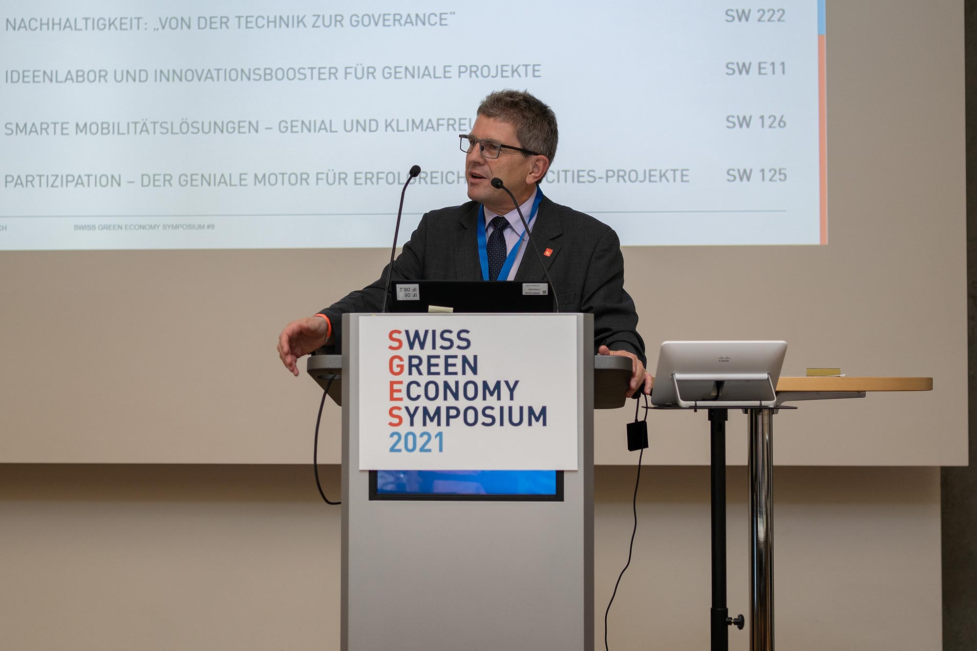 IF.08 Teil 2 Keynote: Erich Fehr, Stadtpräsident von Biel/Bienne
