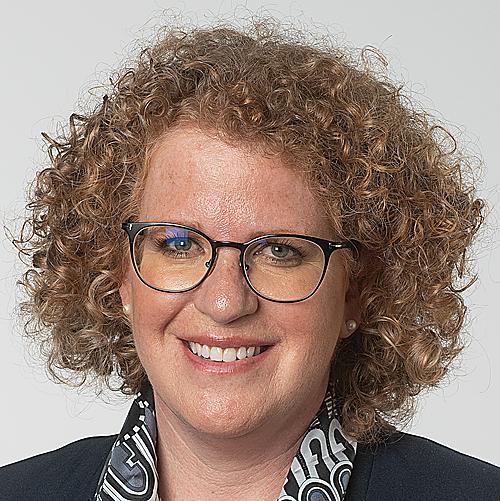 Kantonsrätin Sonja Rueff-Frenkel